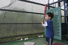大魯閣:拿球棒等發球