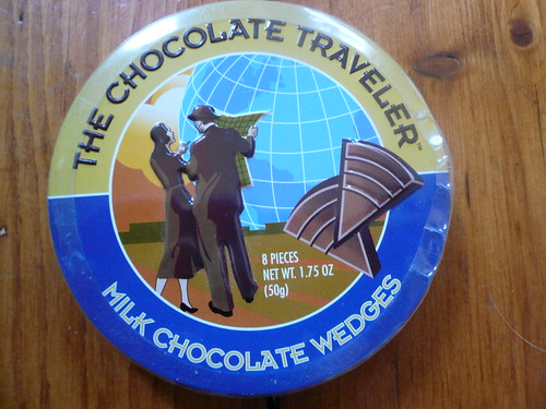 I am the chocolate traveler.