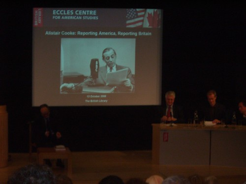 Alistair Cooke Talk