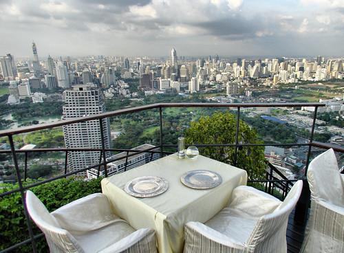Vista de dia desde el restaurante Vertigo