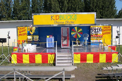 Kidbucks Game Show Stage