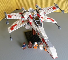 Star Wars Lego 6212 X-Wing Fighter 11 (KatanaZ) Tags: toys starwars lego 2006 xwingfighter