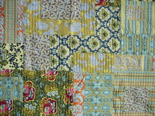 Amy Butler Patchwork Quilt - Top