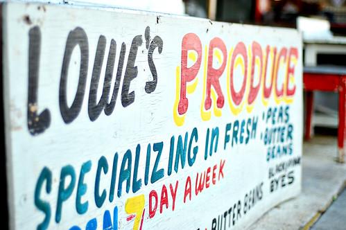 Lowe's Produce