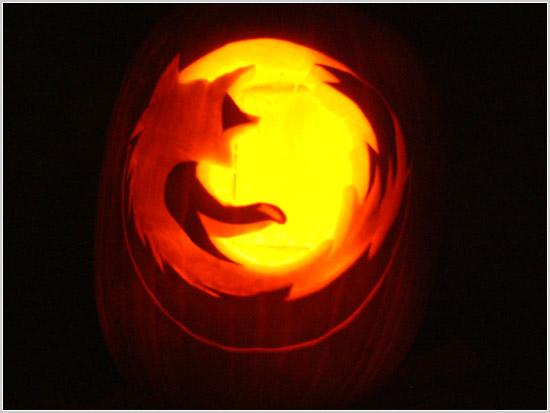 Firefox pumpkin