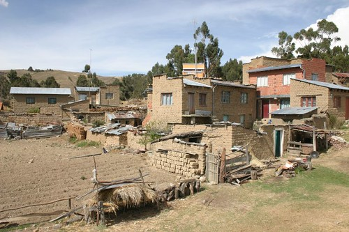 Housing on the Titicaca Lake...