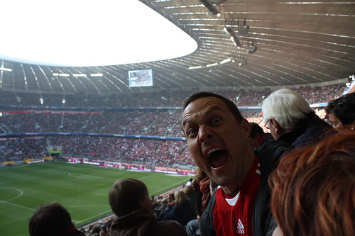 At the Bayern Munich Game