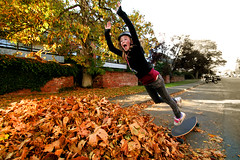 Fall Longboarding (professional recreationalist) Tags: fall leaves fly superman longboard savannah brucedean professionalrecreationalist longboarding