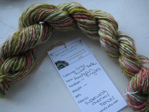 spincerely yours handspun singles