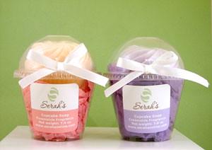 Cupcake Soaps - Pink & Purple
