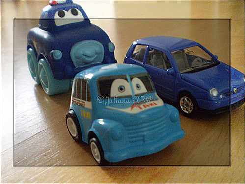 My son's cars
