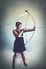 Artemis (Andreas Constantinou ) Tags: greek goddess diana bow arrow artemis mythology cypriot flickrsmasterpieces devinefemale divinefemale