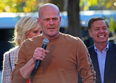 Joe the Plumber in Elyria today
