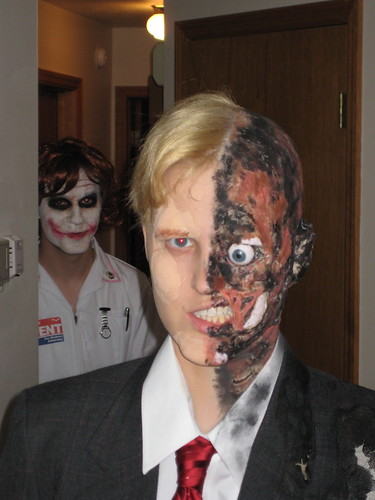 Two face and the Joker