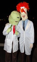Dr Bunsen Honeydew and Beaker