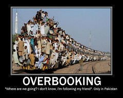 Overbooking in Pakistan