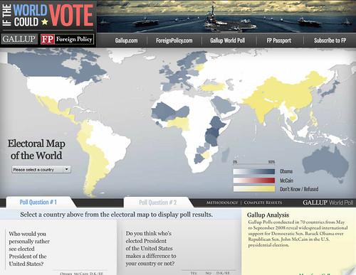 WORLD VOTE 2008