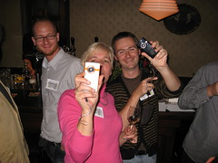 Edublogdinner 2008 (foto door: PiAir (Old Skool))