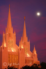 SD Temple 1 (Jeff Bloch) Tags: sunset temple lajolla fullmoon mormon