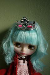 PAR (Button Arcade) Tags: blue hair doll rice sally blythe miss msr