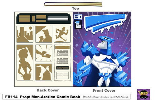 ManArctica Comic Book