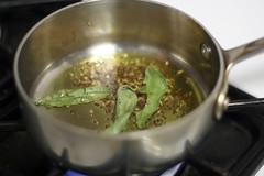 Satya's Sambar Step 19. Add Curry Leaves
