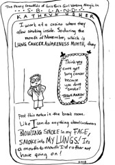 Gris Gris Girl Says What's Up with Lung Cancer Awareness Month?
