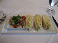 Japanese Pain de Mie, deviled eggs salad, cucumber and aioli. (11/29/2008)