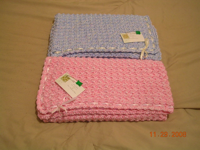 Bubbles Baby Blanket