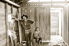Cuba Day 13 - Pinar del Rio (Ian Mears) Tags: boy bw male men boys standing cowboy sitting child cuba hut vinales derelict pinardelrio epiceditsselection