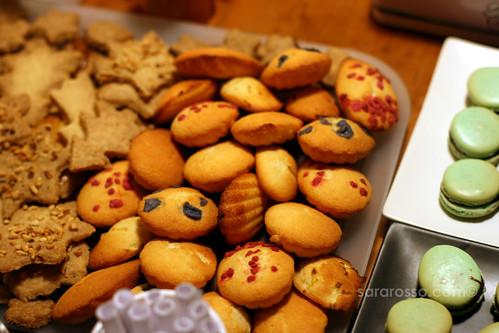 Madeleine di Jardinier Cookies for Holiday Cookie Swap