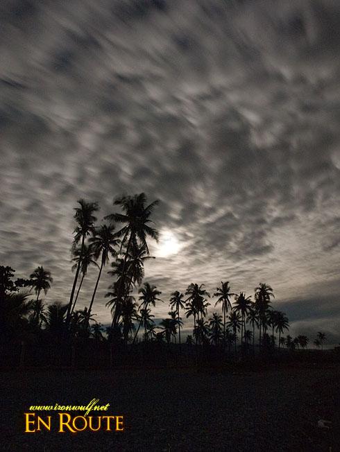 Gasan Beach Dramatic Clouds
