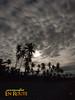Gasan Beach Dramatic Night Clouds