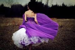(morgan.laforge) Tags: winter field dress purple dancing prom julierolfs