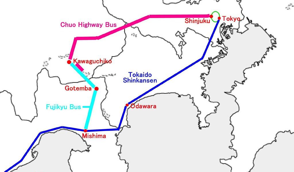 shinkansen tokyo kyoto