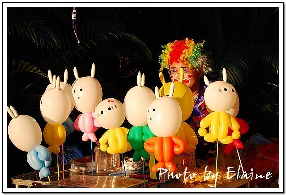 造型氣球的吉米叔叔