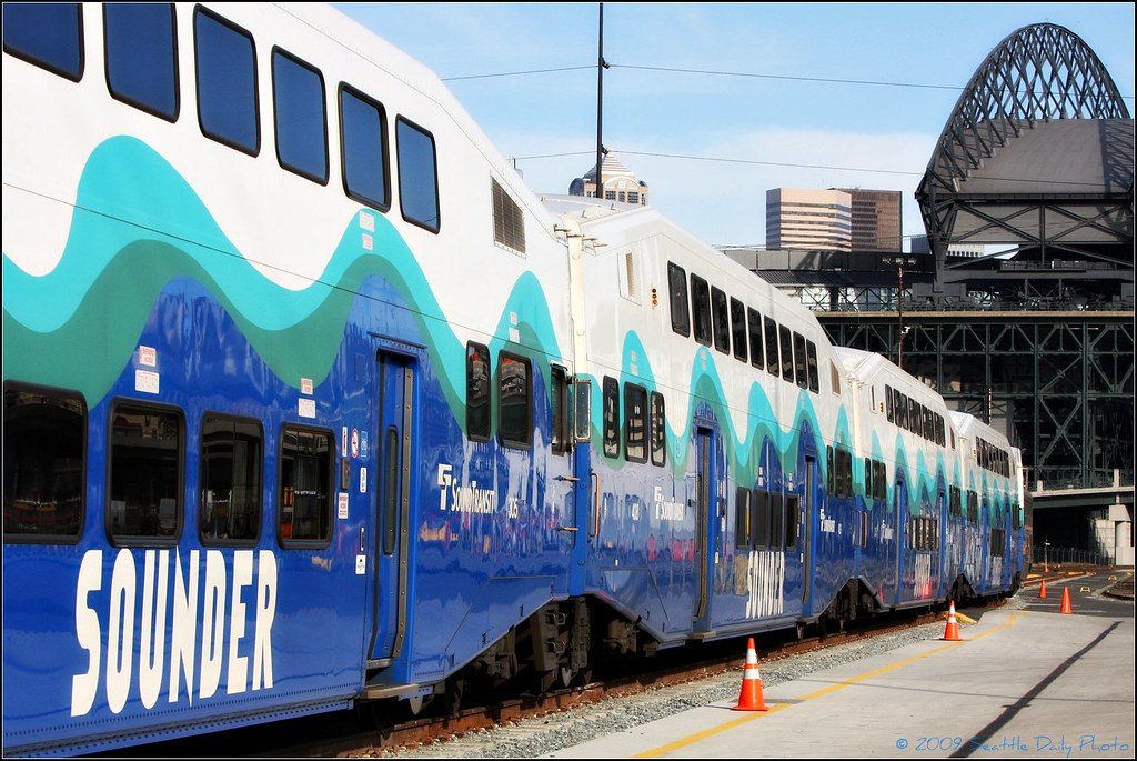 Sounder Cars & Safeco Field
