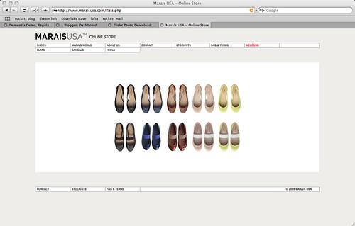 marais shoes!