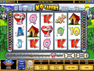 K9 Capers slot game online review