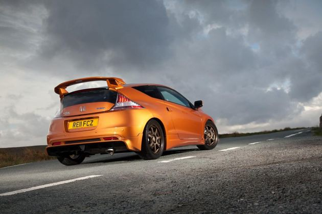 Honda CR-Z by Mugen first images