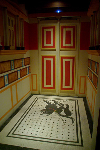 Fauces o entrada ¿d'una domus romana, Romanorum Vita por Sebastià Giralt