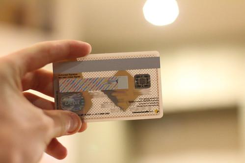 Translucent CBA MasterCard Debit