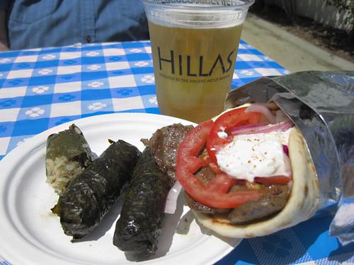 Gyros, Dolmas & Beer