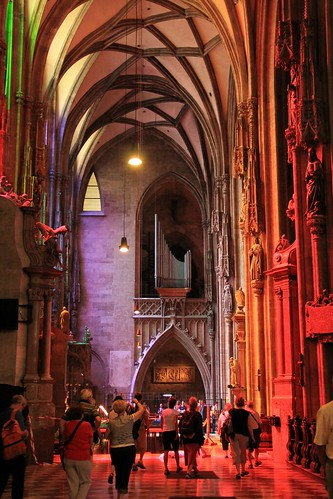 Colors in the cathedral