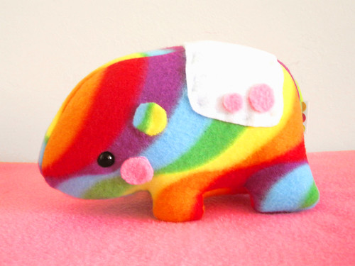 Rainbow Tapir by casscette