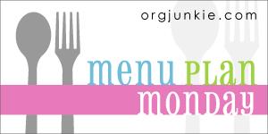 More menu plans at Orgjunkie.com