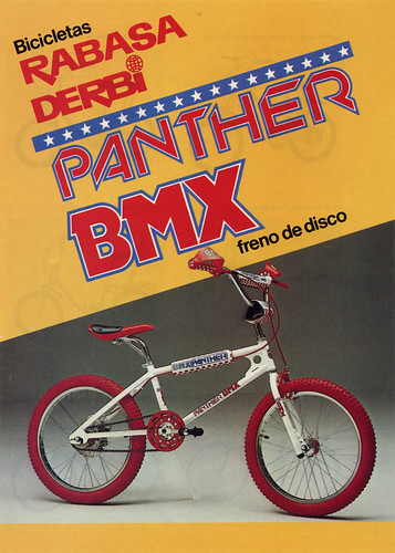 Rabasa Panther BMX Catalogue Cover / Rabasa Cycle