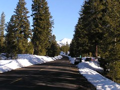 Looking down the Teanaway Road toward Earl