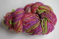 Greenwood Fiberworks Handspun & Handdyed Wool & Silk yarn