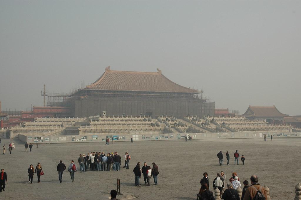 Undergoing Restoration in the Smog